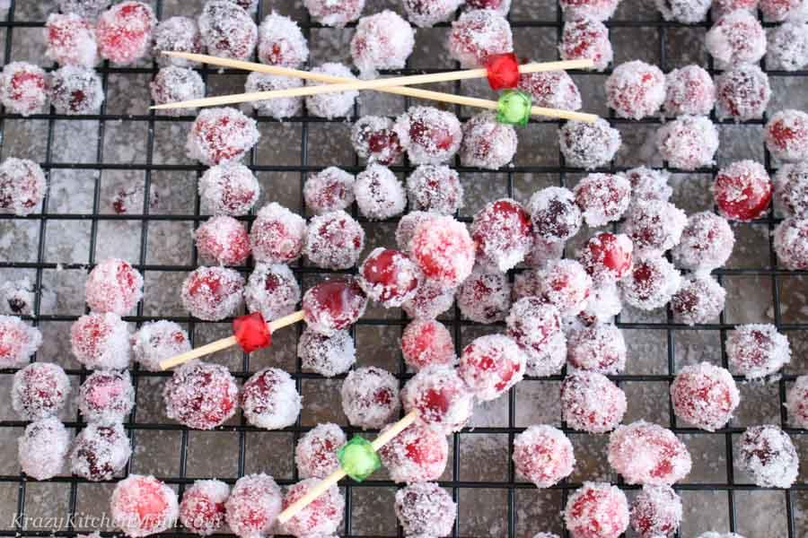 Sugar Cranberries