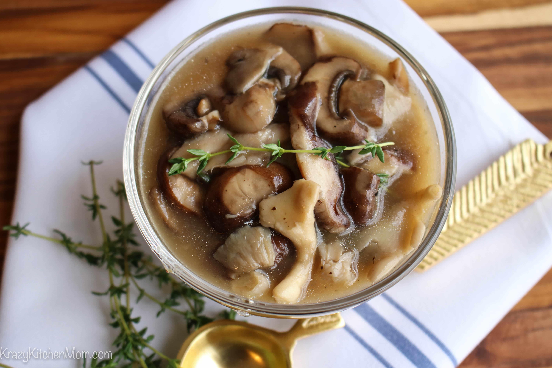 Ten Minute Mushroom Sauce