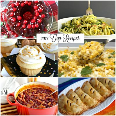 2017 Top Viewed Recipes