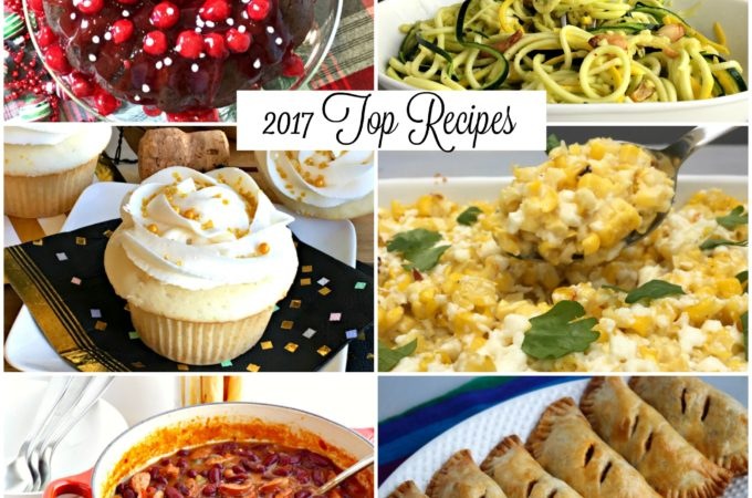 2017 Top Viewed Receipes