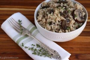 Instant Pot Mushroom Risotto