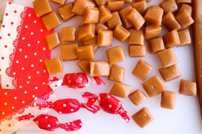 Old Fashioned Salted Caramels