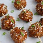 Asian Style Chicken Meatballs