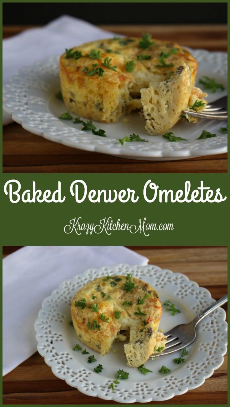Baked Denver Omelets