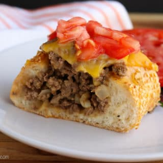 Cheeseburge Stuffed French Bread