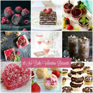 No Bake Valentines Desserts