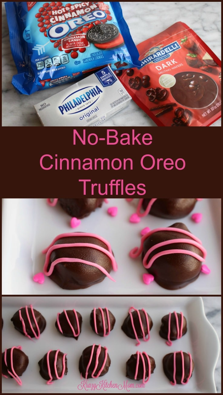 No-Bake Cinnamon Oreo Truffles