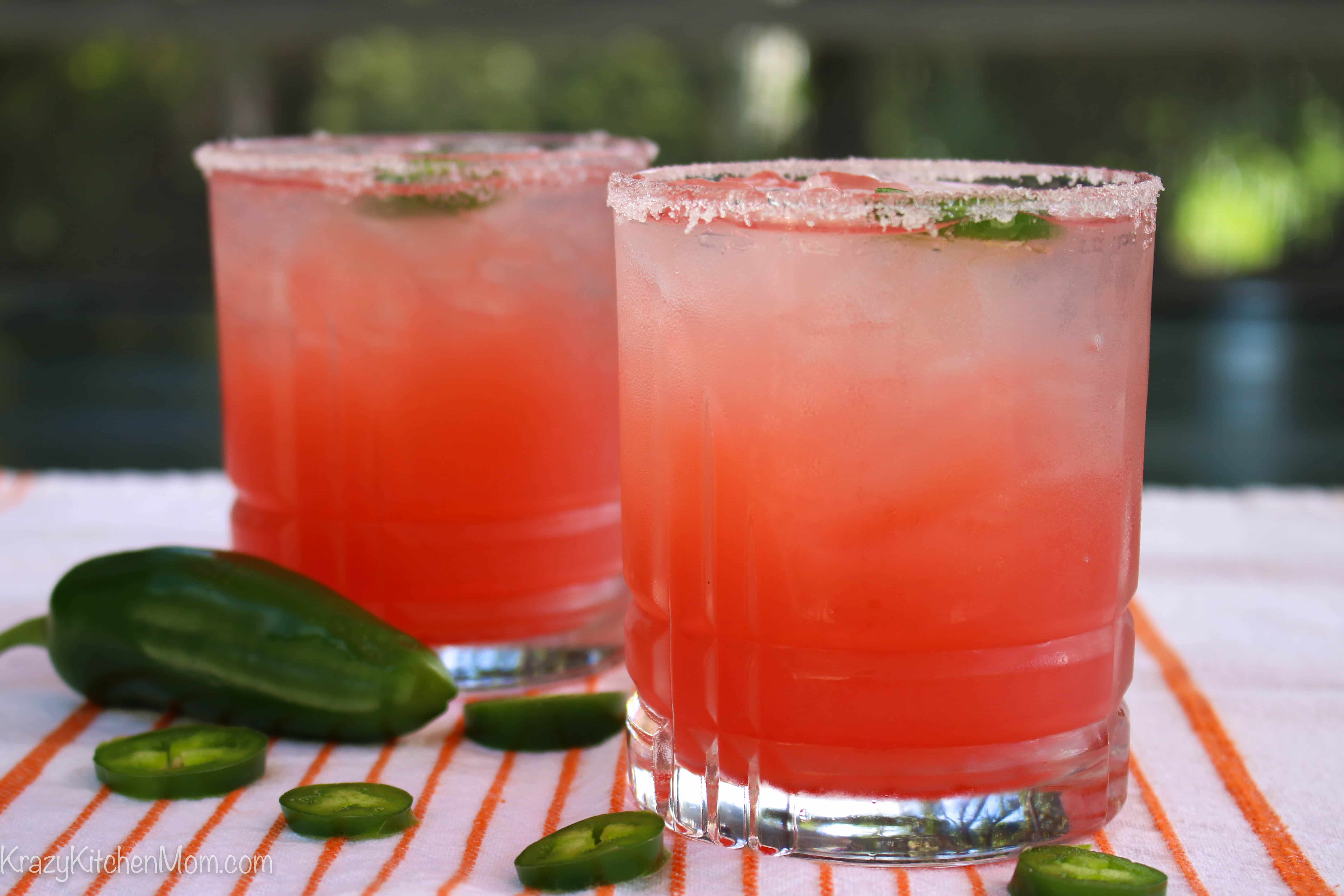 Spicy Salty Dog Cocktail