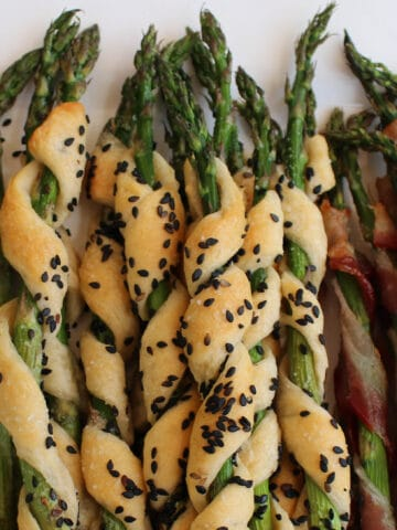 Roasted Asparagus Three Ways