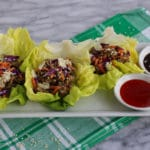 Egg Roll Lettuce Wraps
