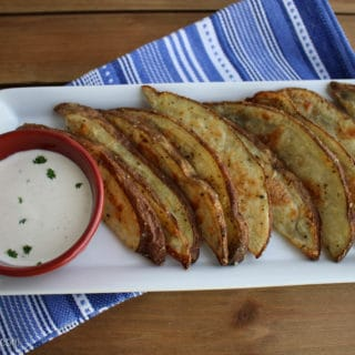 Parmesan Herb Baked Potato Wedges