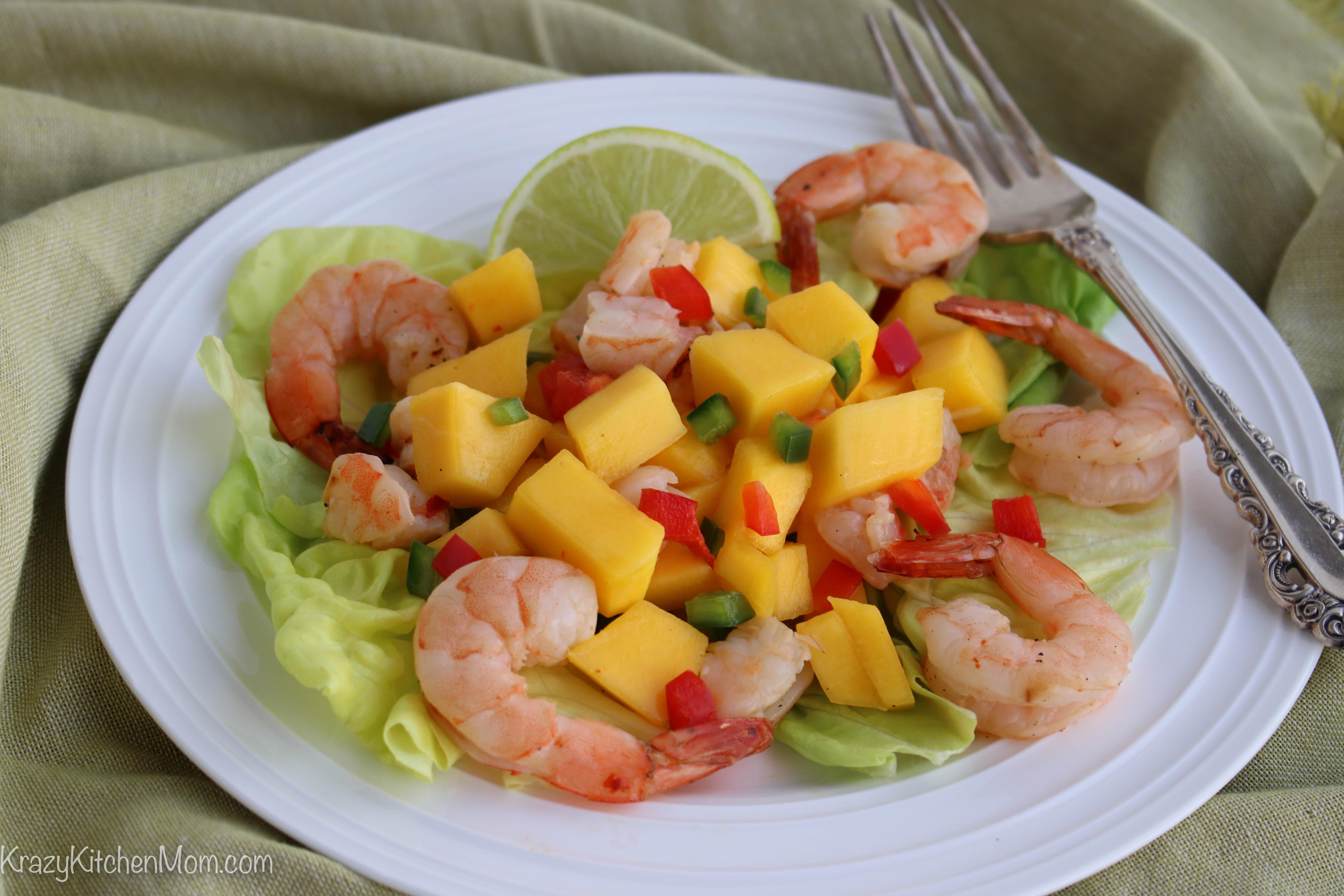 Shrimp and Mango Summer Salad