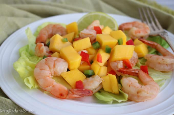 Shrimp and Mango Summer Salad