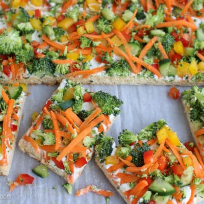 Crescent Roll Veggie Pizza