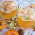Sparkling Apricot Margarita