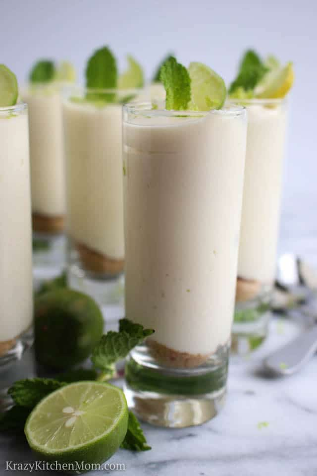 Key Lime Cheesecake Mousse