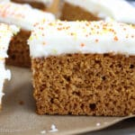 Pumpkin Spice Bars from a Box
