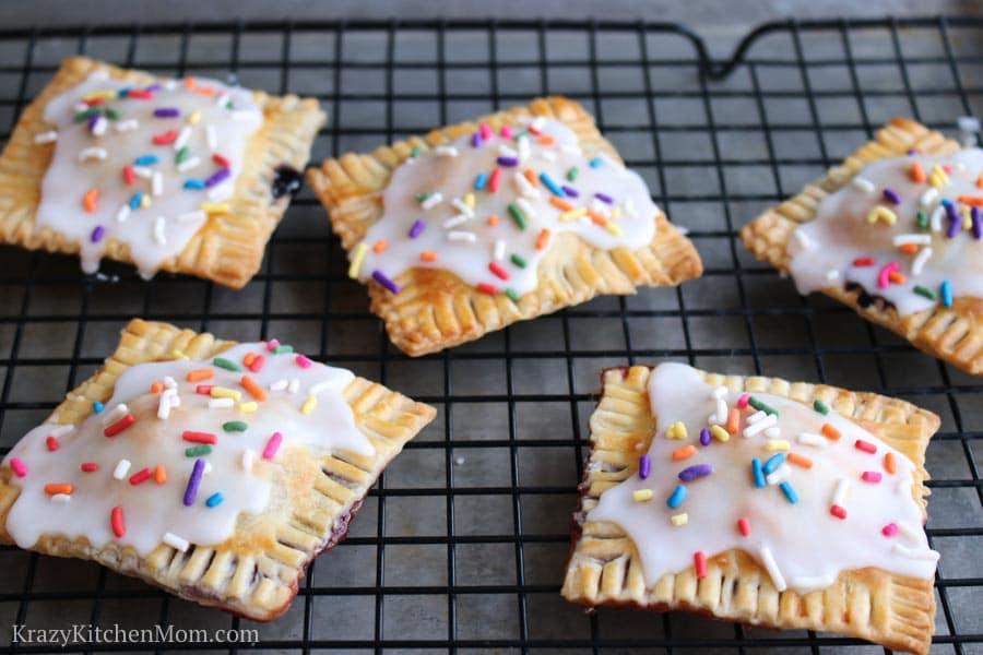 Homemade Berry Poptart Pastries