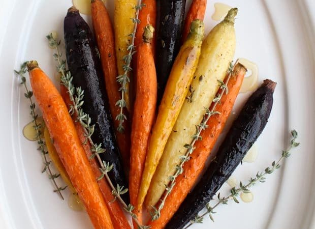 Simple Roasted Carrots