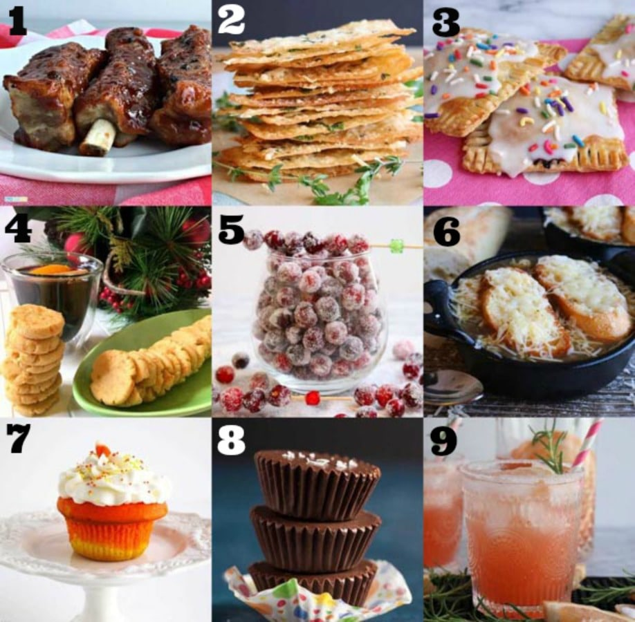 2018 Top Nine Recipes