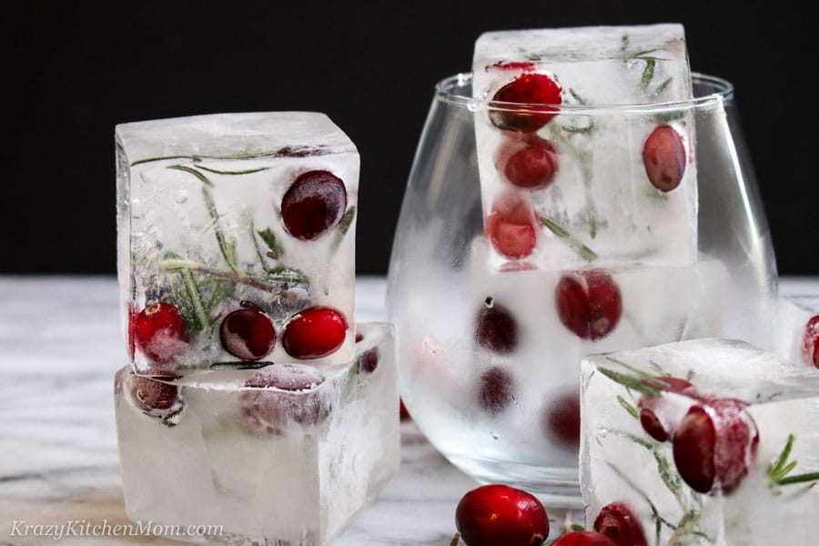 Fancy Ice Cubes