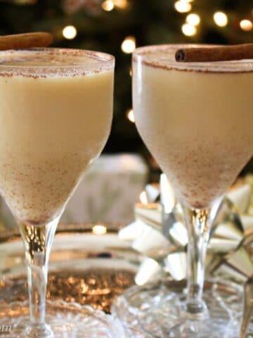 Vanilla Bourbon Eggnog