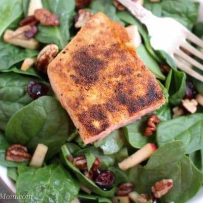 Winter Salmon Salad