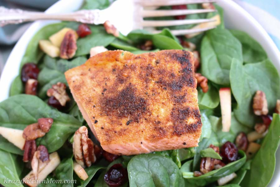 Winter Salmon Salad