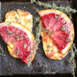 Grilled Halloumi Cheese with Blood Oranges