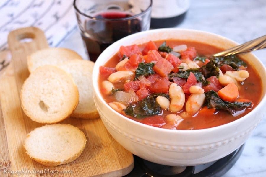 White Bean Tomato Soup