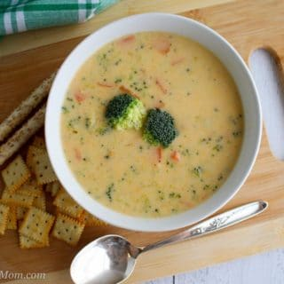 Homemade Broccoli Cheese Soup