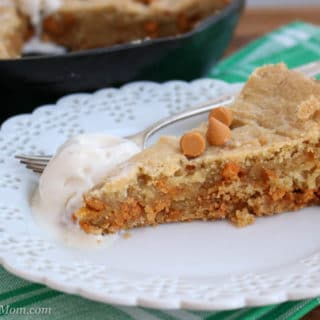 Butterscotch Skillet Blondies