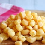 One Ingredient Gouda Cheese Puffs