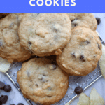 Sweet and Salty Chocolate Chips Cookies