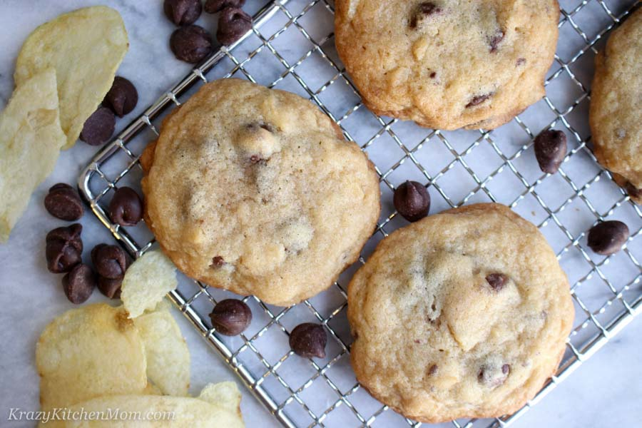 Sweet and Salty Chocolate Chip Cookies