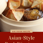 Air Fryer Asian Style Pork Wontons