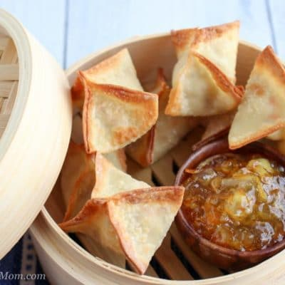 Air Fryer Asian Style Pork Wontons