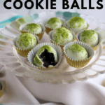 No Bake Mint Oreo Cookie Balls