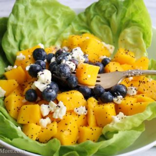 Mango Blueberry Salad