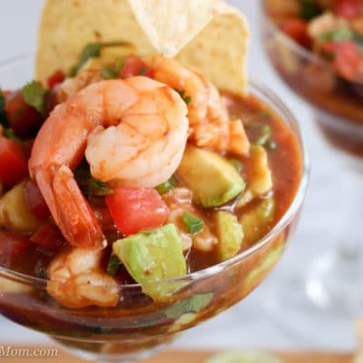 Mexican Style Shrimp Cocktail