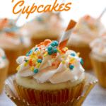 Aperol Spritz Cupcakes