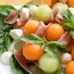 Melon Ball Prosciutto Salad