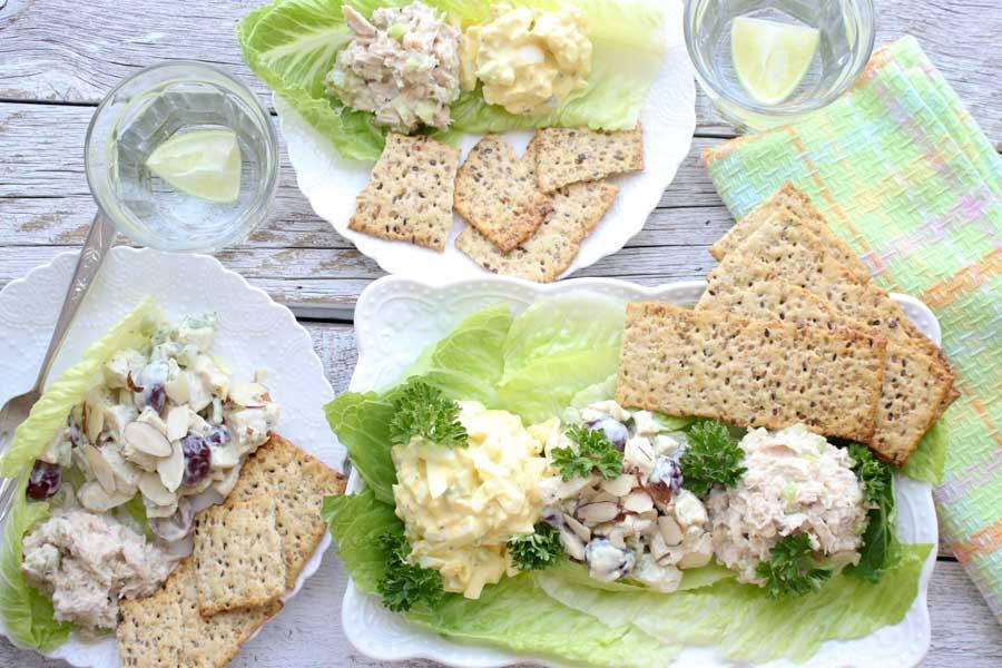 Deli Salad platter spread