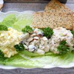 Deli salad platter