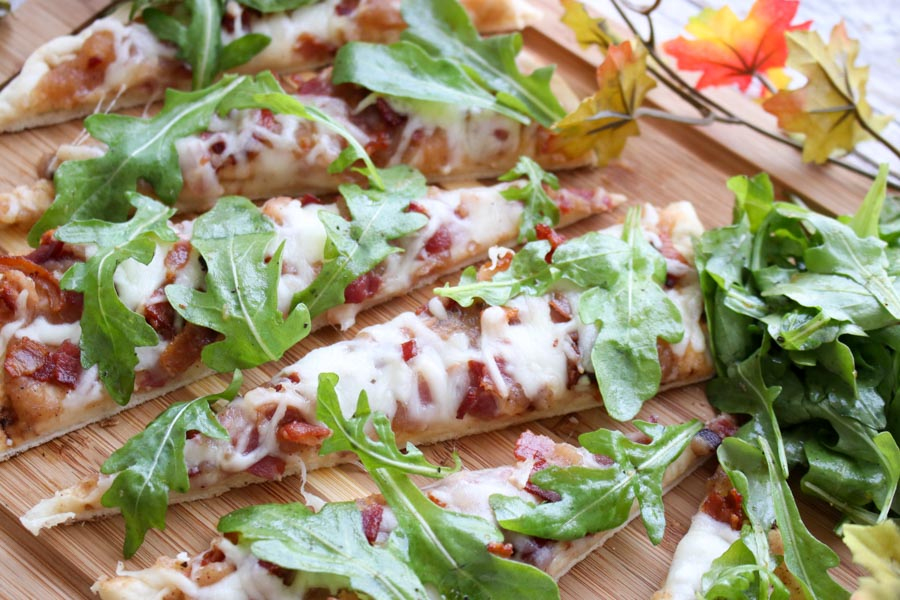 Apple Butter Bacon Flatbread