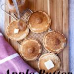 Apple Butter Pancakes