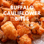 Air Fryer Buffalo Cauliflower Bites
