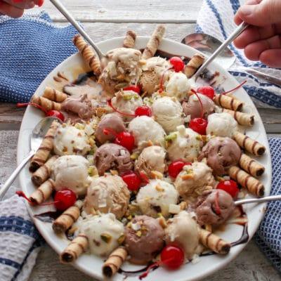Ice Cream Party Platter