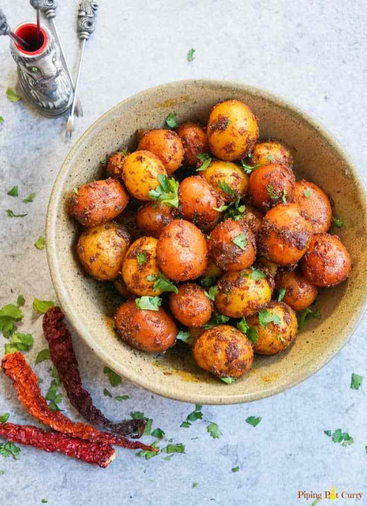 30 Must-Have Thanksgiving Side Dishes Instant Pot Spicy Bombay Potatoes