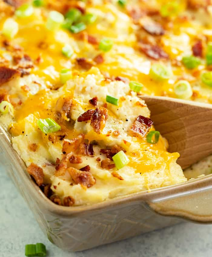 T30 Must-Have Thanksgiving Side Dishes Twice Baked Potato Casserole